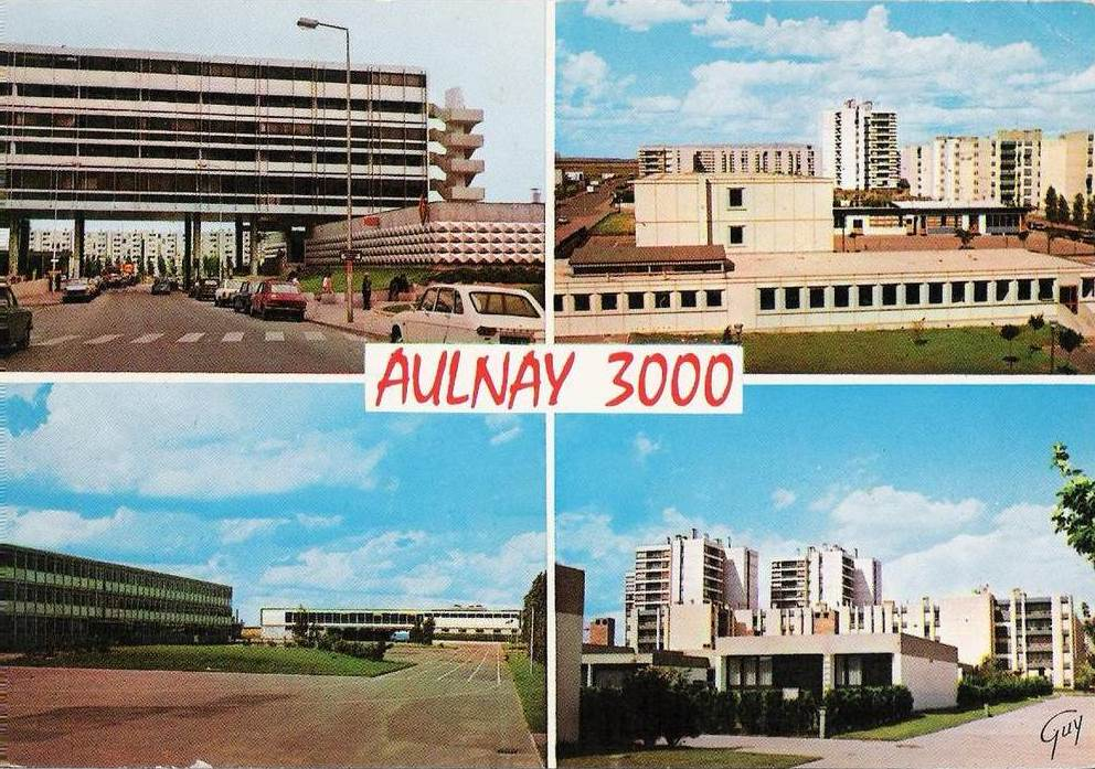 93  Seine Saint Denis Aubervilliers to Bondy  The Cine  ~ Cea Aulnay Sous Bois