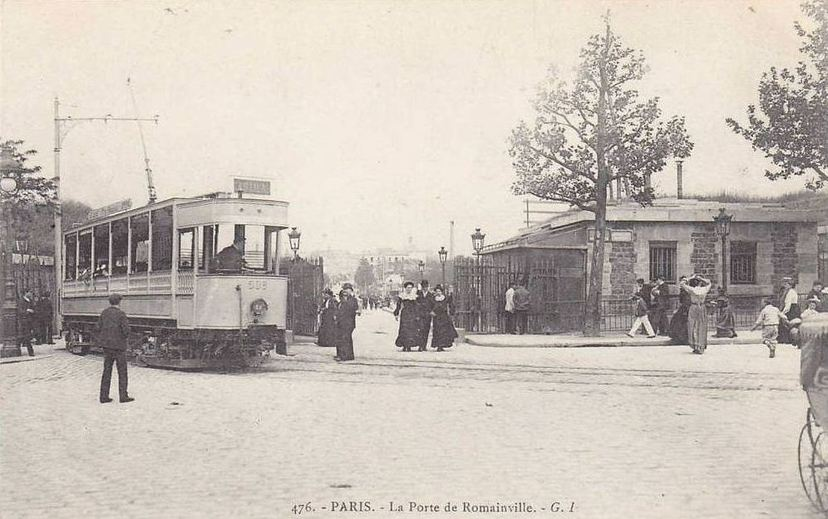 L 39 enfant de paris narrative of an identification the cine tourist - Tramway porte des lilas ...